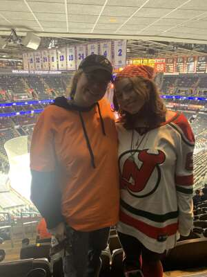 Megan R attended Philadelphia Flyers vs. New Jersey Devils - NHL ** Military Appreciation Night ** Please Read Event Notes ** on May 10th 2021 via VetTix