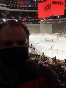 N8 attended Philadelphia Flyers vs. New Jersey Devils - NHL ** Military Appreciation Night ** Please Read Event Notes ** on May 10th 2021 via VetTix