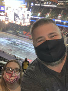 Heather attended Philadelphia Flyers vs. New Jersey Devils - NHL ** Military Appreciation Night ** Please Read Event Notes ** on May 10th 2021 via VetTix
