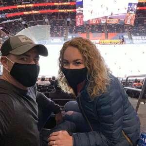 Mariah attended Philadelphia Flyers vs. New Jersey Devils - NHL ** Military Appreciation Night ** Please Read Event Notes ** on May 10th 2021 via VetTix