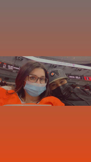 Leila attended Philadelphia Flyers vs. New Jersey Devils - NHL ** Military Appreciation Night ** Please Read Event Notes ** on May 10th 2021 via VetTix