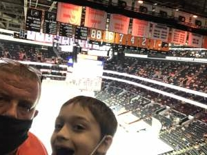 Shawn attended Philadelphia Flyers vs. New Jersey Devils - NHL ** Military Appreciation Night ** Please Read Event Notes ** on May 10th 2021 via VetTix
