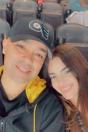 SFC Mercado attended Philadelphia Flyers vs. New Jersey Devils - NHL ** Military Appreciation Night ** Please Read Event Notes ** on May 10th 2021 via VetTix