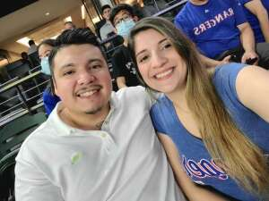 Anthony  attended Texas Rangers vs. Seattle Mariners - MLB on May 9th 2021 via VetTix
