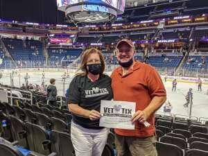 Click To Read More Feedback from Orlando Solar Bears vs. Greenville Swamp Rabbits - ECHL - Military Appreciation Night