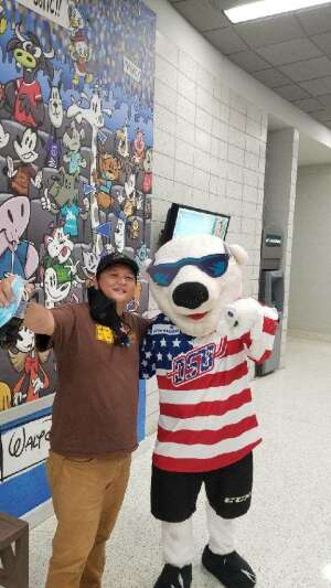 Tony attended Orlando Solar Bears vs. Greenville Swamp Rabbits - ECHL - Military Appreciation Night on May 8th 2021 via VetTix