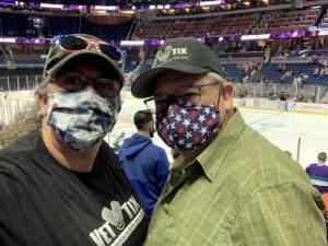 G Mark attended Orlando Solar Bears vs. Greenville Swamp Rabbits - ECHL - Military Appreciation Night on May 8th 2021 via VetTix