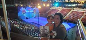 Raquel attended Disney on Ice Presents Mickey's Search Party on Jun 10th 2021 via VetTix