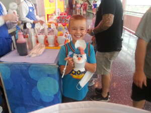 KJ attended Disney on Ice Presents Mickey's Search Party on Jun 11th 2021 via VetTix
