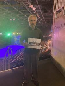 Orin Griffith  attended Disney on Ice Presents Mickey's Search Party on Jun 13th 2021 via VetTix