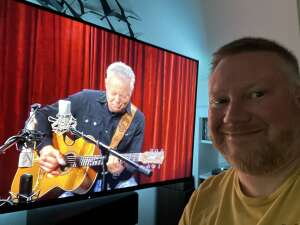 MAtt attended Virtual Event of The Muse Hour with Tommy Emmanuel on Jun 5th 2021 via VetTix