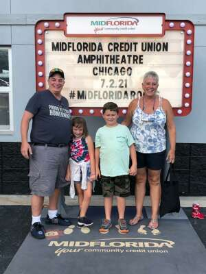 Al attended An Evening With Chicago and Their Greatest Hits on Jul 2nd 2021 via VetTix