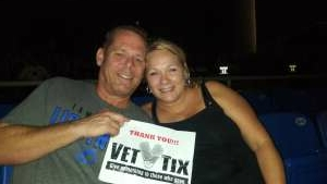 Richard Blacklidge  attended An Evening With Chicago and Their Greatest Hits on Jul 2nd 2021 via VetTix