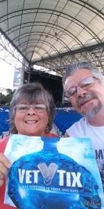 Bob attended An Evening With Chicago and Their Greatest Hits on Jul 2nd 2021 via VetTix