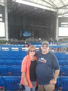 robert and sonia attended An Evening With Chicago and Their Greatest Hits on Jul 2nd 2021 via VetTix