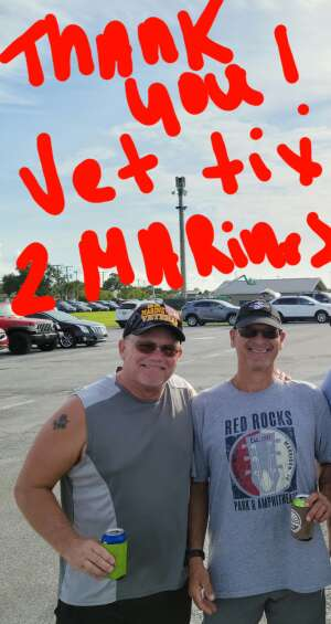 JD attended An Evening With Chicago and Their Greatest Hits on Jul 2nd 2021 via VetTix