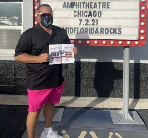 Ivan Padin attended An Evening With Chicago and Their Greatest Hits on Jul 2nd 2021 via VetTix