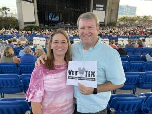 Chris R attended An Evening With Chicago and Their Greatest Hits on Jul 2nd 2021 via VetTix
