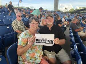 Bill and Marlyn Landin attended An Evening With Chicago and Their Greatest Hits on Jul 2nd 2021 via VetTix