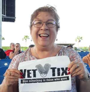 Lady C attended An Evening With Chicago and Their Greatest Hits on Jul 2nd 2021 via VetTix