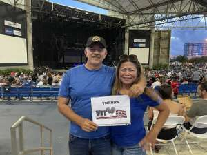 Joe T attended An Evening With Chicago and Their Greatest Hits on Jul 2nd 2021 via VetTix