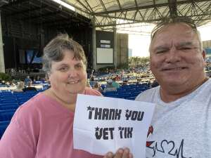 K Hall  attended An Evening With Chicago and Their Greatest Hits on Jul 2nd 2021 via VetTix