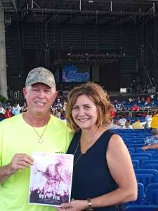 Wormer attended An Evening With Chicago and Their Greatest Hits on Jul 2nd 2021 via VetTix