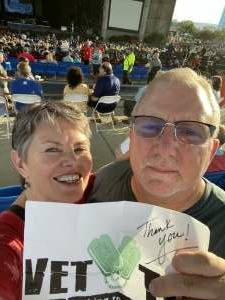 Mike attended An Evening With Chicago and Their Greatest Hits on Jul 2nd 2021 via VetTix