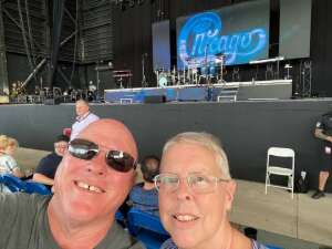 Kris attended An Evening With Chicago and Their Greatest Hits on Jul 2nd 2021 via VetTix