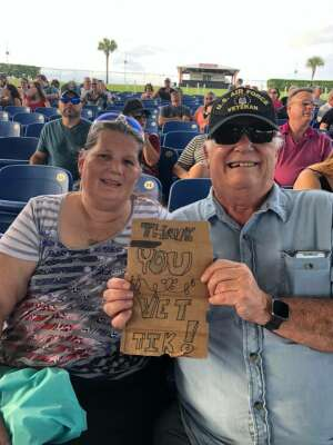 Bob McAdoo/Donna Smith attended An Evening With Chicago and Their Greatest Hits on Jul 2nd 2021 via VetTix
