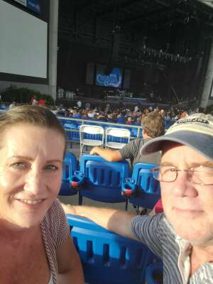 Dan attended An Evening With Chicago and Their Greatest Hits on Jul 2nd 2021 via VetTix