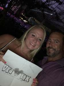 Serena attended An Evening With Chicago and Their Greatest Hits on Jul 2nd 2021 via VetTix