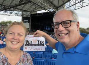 Lori attended An Evening With Chicago and Their Greatest Hits on Jul 2nd 2021 via VetTix