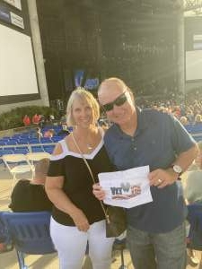 Bob yanczewski  attended An Evening With Chicago and Their Greatest Hits on Jul 2nd 2021 via VetTix