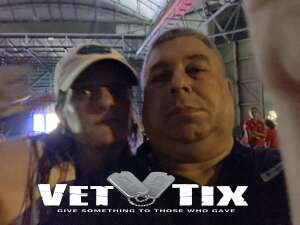 Fred attended An Evening With Chicago and Their Greatest Hits on Jul 2nd 2021 via VetTix