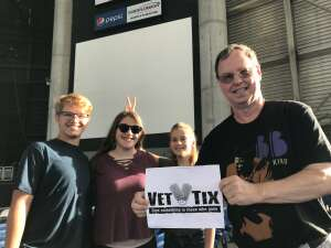 William Hampton attended An Evening With Chicago and Their Greatest Hits on Jul 2nd 2021 via VetTix