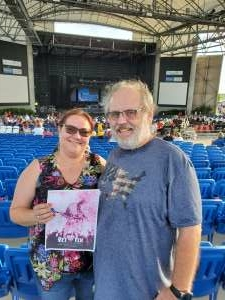 Mark attended An Evening With Chicago and Their Greatest Hits on Jul 2nd 2021 via VetTix