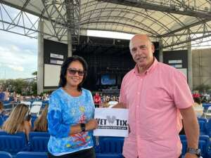 Archie and Nancy attended An Evening With Chicago and Their Greatest Hits on Jul 2nd 2021 via VetTix