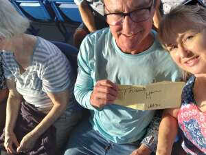 Keith attended An Evening With Chicago and Their Greatest Hits on Jul 2nd 2021 via VetTix