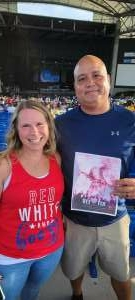 eddie attended An Evening With Chicago and Their Greatest Hits on Jul 2nd 2021 via VetTix