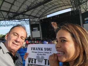 Peter attended An Evening With Chicago and Their Greatest Hits on Jul 2nd 2021 via VetTix