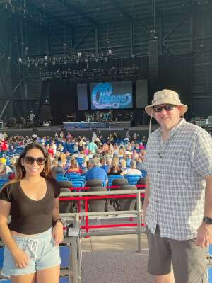 Michael  attended An Evening With Chicago and Their Greatest Hits on Jul 2nd 2021 via VetTix