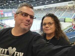 Toni attended Tucson Roadrunners vs. Ontario on May 16th 2021 via VetTix