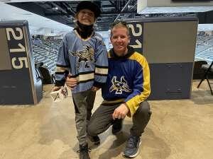 Juck attended Tucson Roadrunners vs. Ontario on May 16th 2021 via VetTix