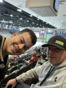 Mike attended Tucson Roadrunners vs. Ontario on May 16th 2021 via VetTix