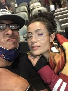 Pablo Lopez attended Tucson Roadrunners vs. Ontario on May 16th 2021 via VetTix