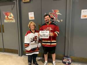 Click To Read More Feedback from Tucson Roadrunners vs. Ontario