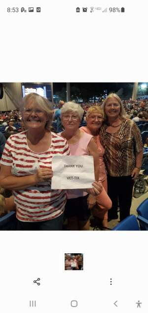 Laura attended An Evening With Chicago and Their Greatest Hits on Jun 29th 2021 via VetTix