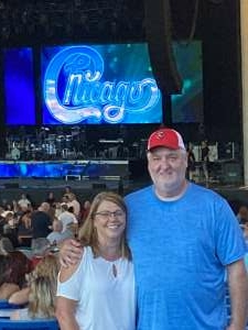 Tony attended An Evening With Chicago and Their Greatest Hits on Jun 29th 2021 via VetTix