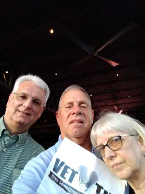 Dan in Charlotte attended An Evening With Chicago and Their Greatest Hits on Jun 29th 2021 via VetTix